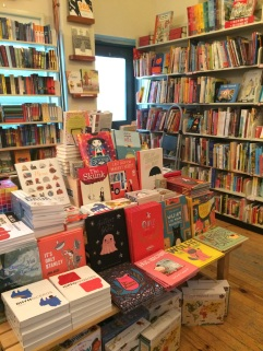 Inside Type Bookstore!